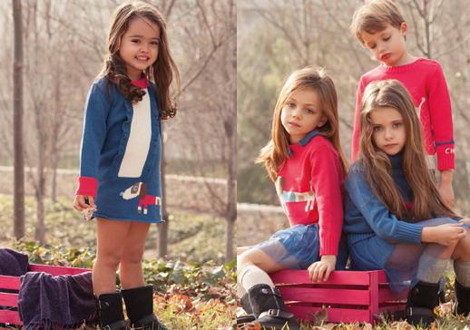 Moda infantil Lourdes otoño invierno 2014 2015-Blogmodabebe 12.