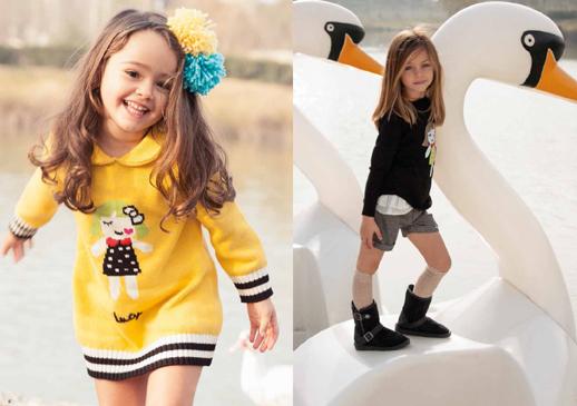 Moda infantil Lourdes otoño invierno 2014 2015-Blogmodabebe 3