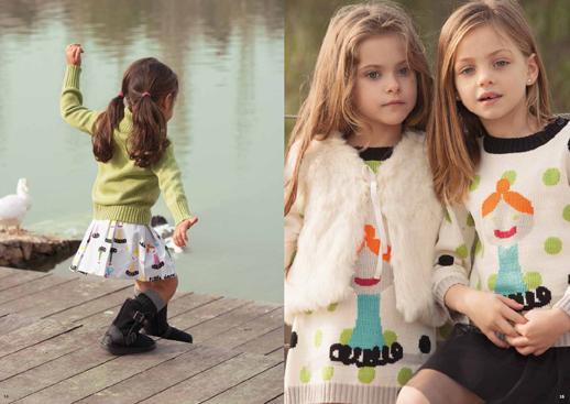 Moda infantil Lourdes otoño invierno 2014 2015-Blogmodabebe 7