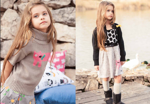 Moda infantil Lourdes otoño invierno 2014 2015-Blogmodabebe