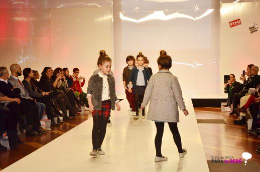 Nieves Alvarez y Villalobos desfile en FIMI pasarela moda infantil