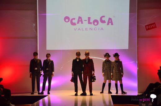 Oca Loca desfile en FIMI pasarela moda infantil 2