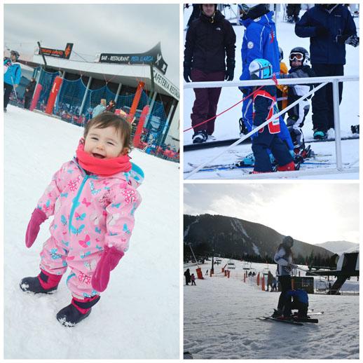Vacaciones en la nieve de La Cerdanya-esquiando en la Molina
