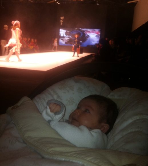 Valentina en el Front Row de FIMI