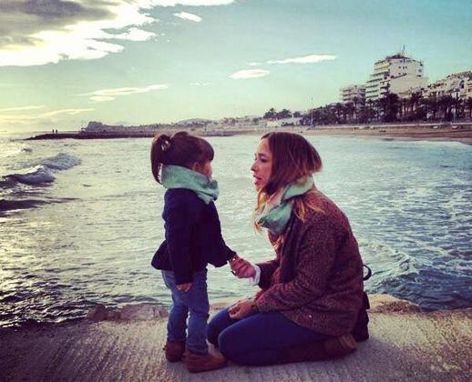 Beth Rodergas y su hija Lia inspiracion de LittleLia