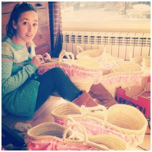 Cestos de LittleLia para Cóndor complementos handmade para bebes de Beth Rodergas 2
