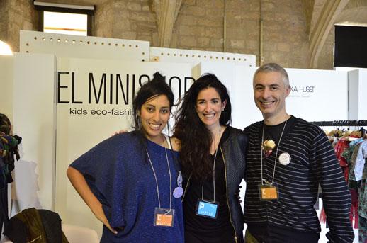Con Vanina y Loïc de la agencia de moda eco elminishop_Little Barcelona_Blogmodabebe