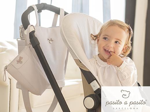 Pasito a pasito nueva colección primavera verano 2014 It Baby crema
