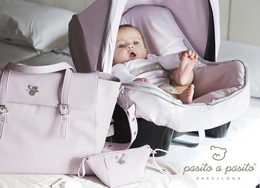 Pasito a pasito nueva colección primavera verano 2014 It Baby fundas y accesorios puericultura rosa