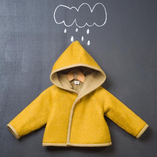 moda infantil Popelin abrigo