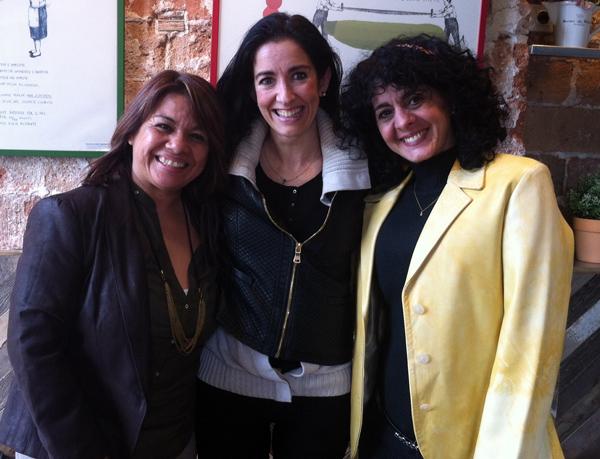 Carmen Estrada y Soraya Fares