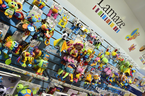 Juguetes para bebes Lamaze-novedades Tomy-Feria Nuremberg-Blogmodabebe5