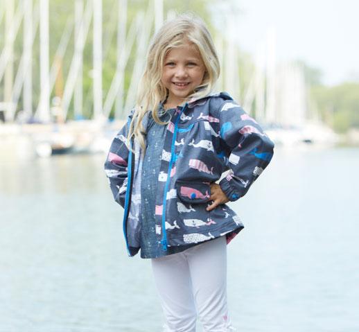 Moda infantil Hatley ropa de lluvia, botas de agua, chubasqueros y paraguas1