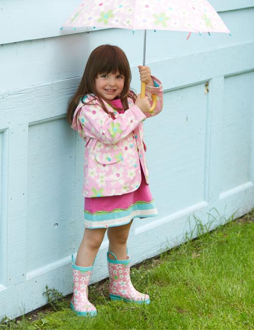 Moda infantil Hatley ropa de lluvia, botas de agua, chubasqueros y paraguas11