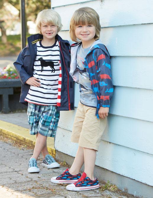 Moda infantil Hatley ropa de lluvia, botas de agua, chubasqueros y paraguas4