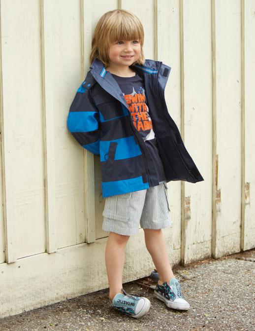 Moda infantil Hatley ropa de lluvia, botas de agua, chubasqueros y paraguas9