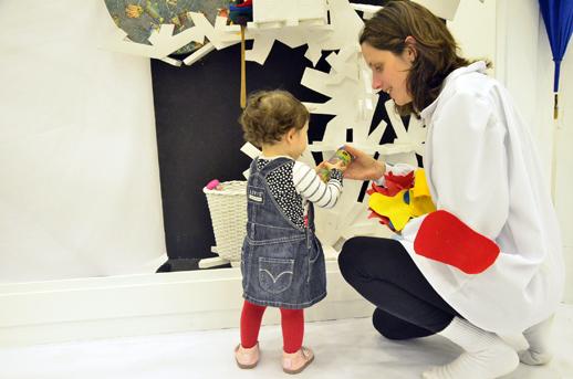 Pintamúsica, teatro para bebés