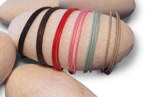 pulseras personalizadas de Sweet Memory colores cuerdas