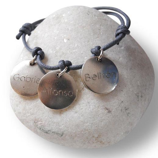 pulseras personalizadas de Sweet Memory plateada