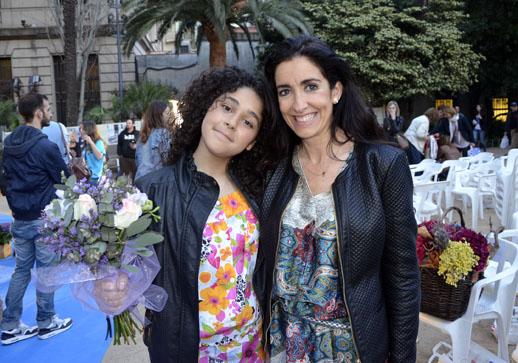 Con Nerea de La Voz Kids
