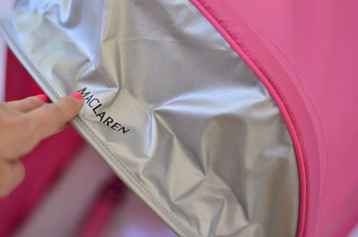 Detalles nueva silla Maclaren Mark II-4