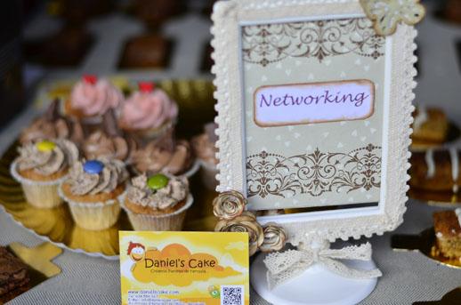 Había cupcakes en el networking