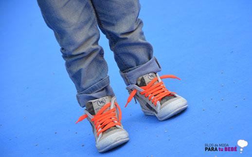 Moda infantil Petit Style Walking zapatos Andrea Morelli