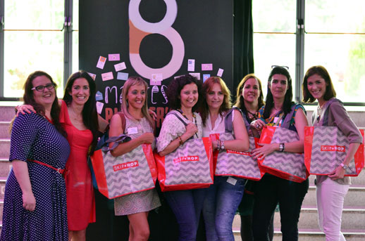 Mamas blogueras Evento Madresfera revista Elle