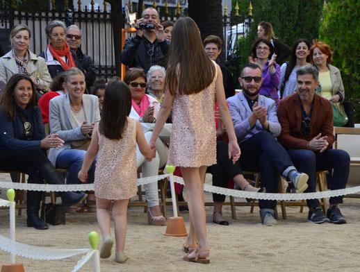Moda infantil Adolfo Dominguez Kids verano 2014_pasarela_Blogmodabebe