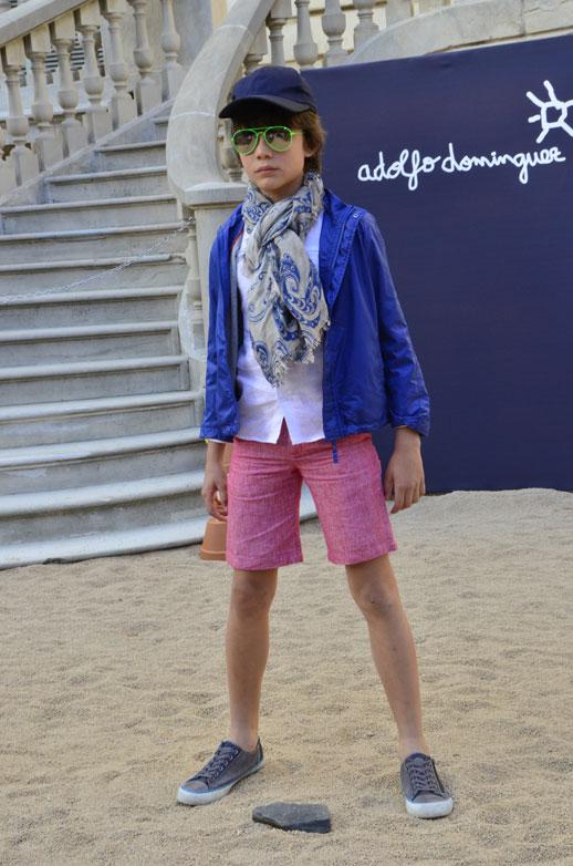 Moda infantil Adolfo Dominguez Kids verano 2014_pasarela_Blogmodabebe9