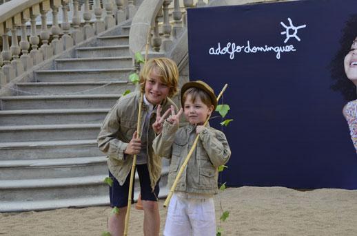 Moda infantil Adolfo Dominguez Kids verano 2014_pasarela_Blogmodabebe_Mercedes Estrader