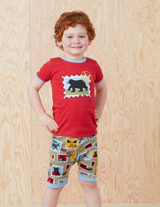 Pijamas infantiles Hatley primavera verano 2014_Blogmodabebe7