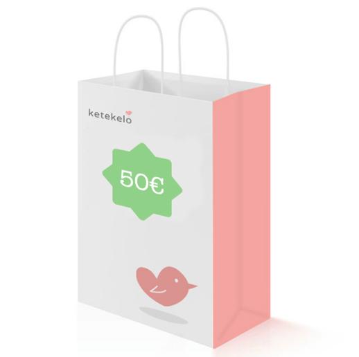 Premio_Tarjeta regalo 50 EUROs ketekelo-Blogmodabebe