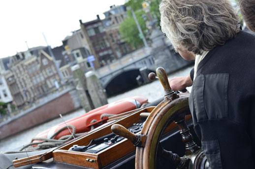 Bugaboo evento Amsterdam circuito por los canales