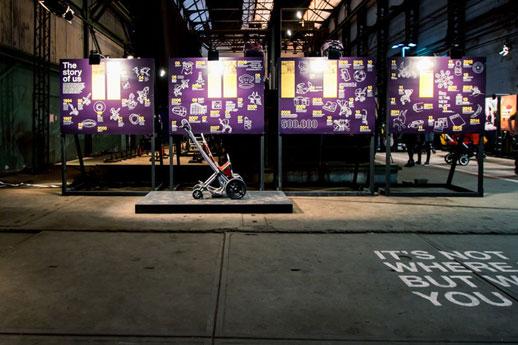 Bugaboo evento Amsterdam el primer cochecito