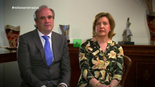 Javier y Alicia creadores de Trasluz en MillonarioTrasluz