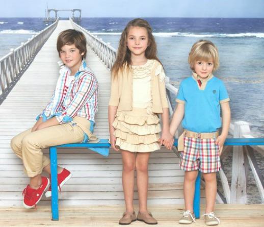 moda infantil trasluz