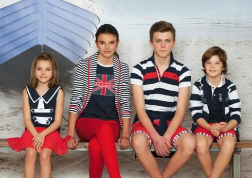 moda infantil y juvenil Trasluz