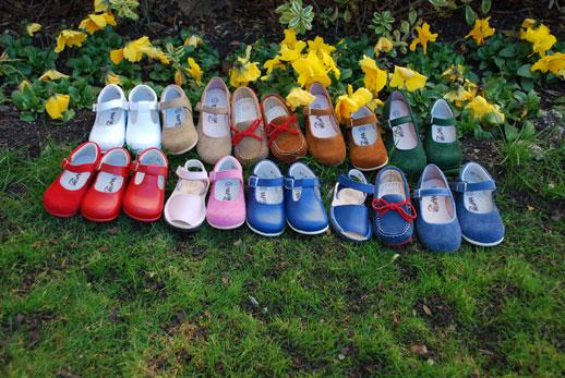 Calzado-infantil-Saltin Banquin-colores