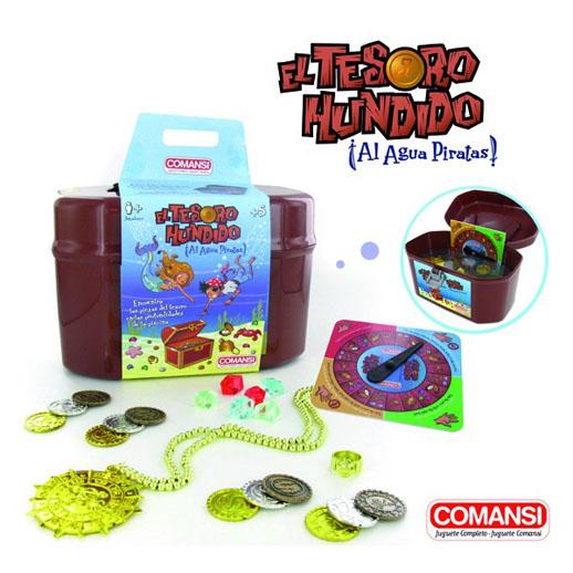 El tesoro hundido de Comansi