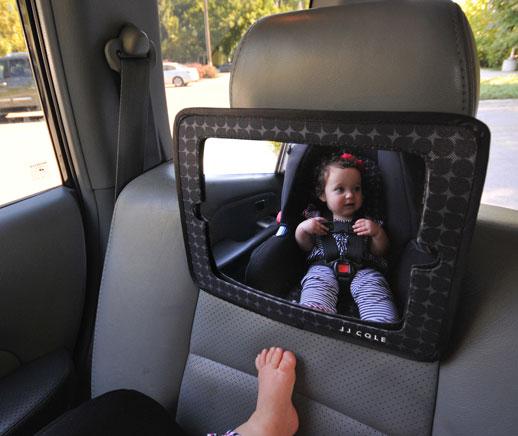 Espejo coche para ver bebe JJCole Blogmodabebe
