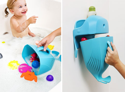 Guarda juguetes bañera Boon ballena Blogmodabebe