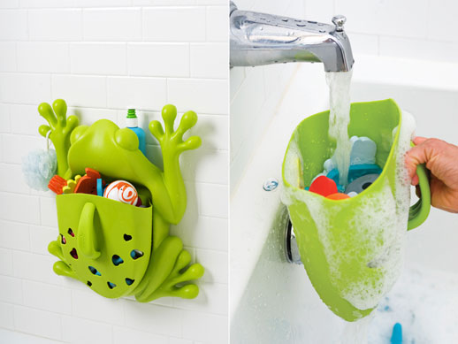Guarda juguetes bañera Boon ranita Blogmodabebe 2