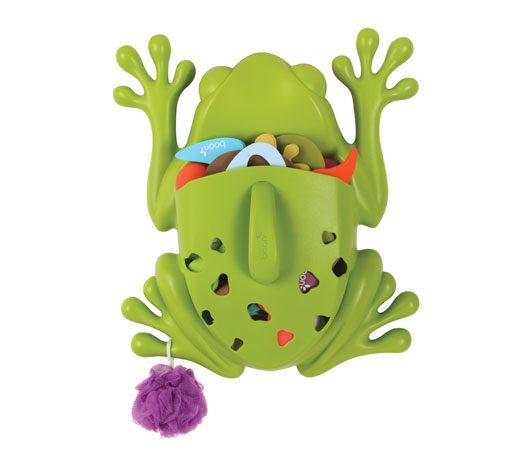 Guarda juguetes bañera Boon ranita Blogmodabebe