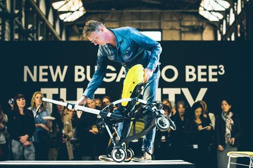 Max Barenbrug, fundador y jefe de Diseño de Bugaboo fue el encargado de presentarnos el nuevo Bugaboo Bee3