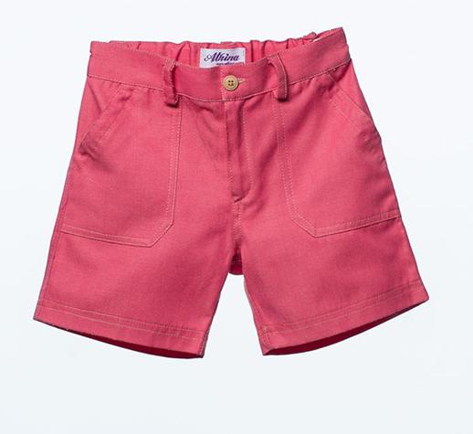 Moda infantil Bambino & Co-bermudas-nino-coral