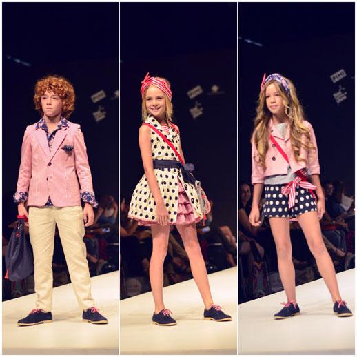 Moda infantil FIMI Fashion Show © Blogmodabebe_verano 2015_desfile de Barcarola