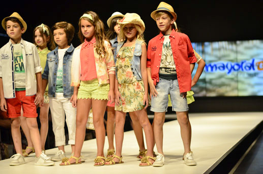 Moda infantil FIMI Fashion Show © Blogmodabebe_verano 2015_desfile de Mayoral