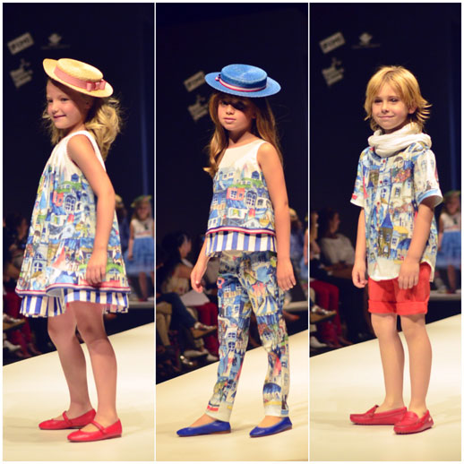 Moda infantil FIMI Fashion Show © Blogmodabebe_verano 2015_desfile de Pan con chocolate