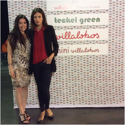 Moda infantil FIMI Fashion Show Maria Jose Cayuela con Nieves Alvarez
